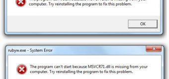 Eenvoudige DLL-fouten oplossen in Windows 8, 8.1