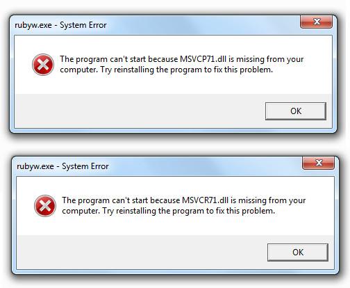 DLL-fouten repareren in Windows 8.1