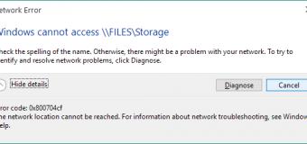 [Opgelost] Hoe te verhelpen Netwerkfout 0x800704cf op Windows 10 / 8.1 / 8?