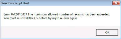 delete Error 0xc004d307