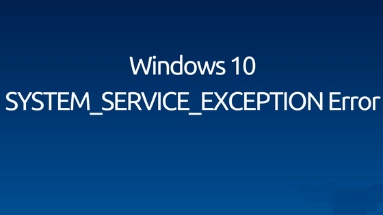 verwijder System_Service_Exception fout